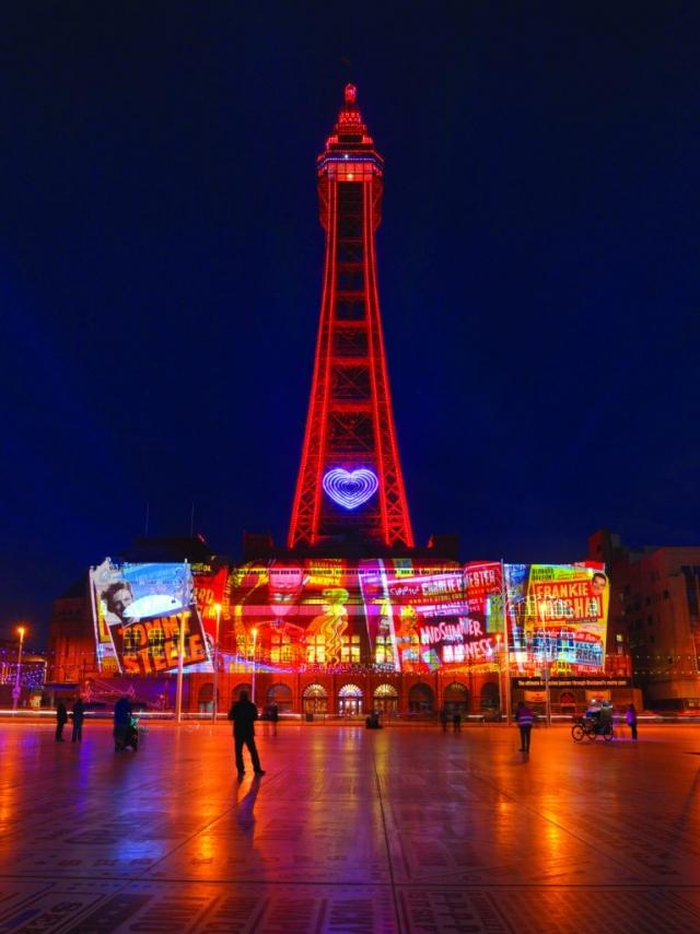 Lightpool at Blackpool Illuminations