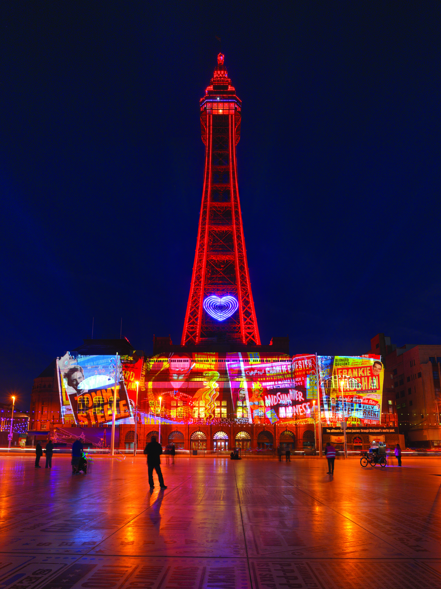 Lightpool at Blackpool Illuminations
